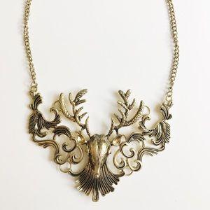 ✨ Deer Statement Necklace ✨